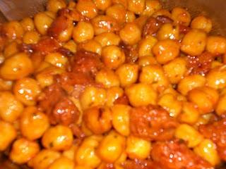 Garbanzos fritos recetas para chus y fran - Preparacion de garbanzos cocidos ...